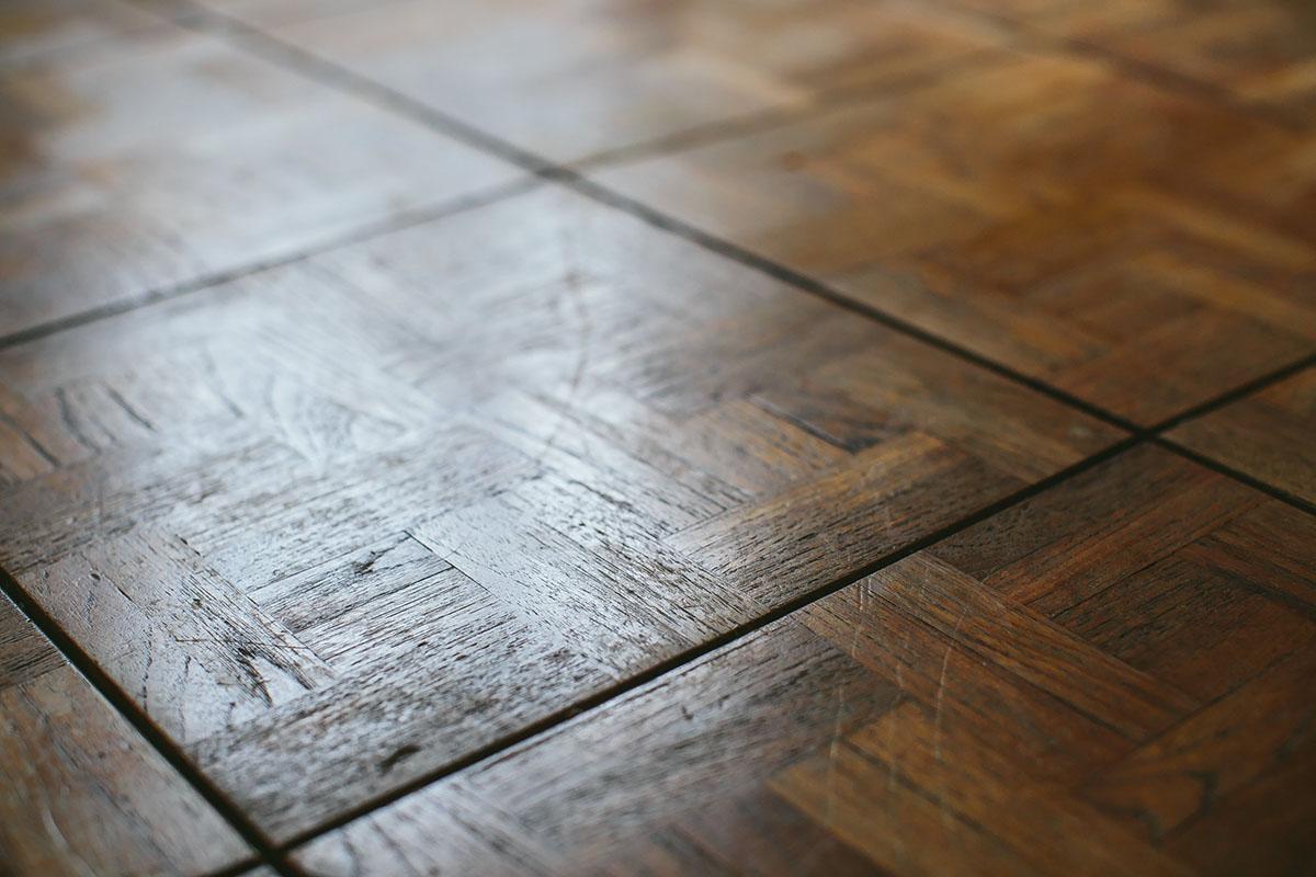 Burnworth Design | Before | Parquet-Flooring