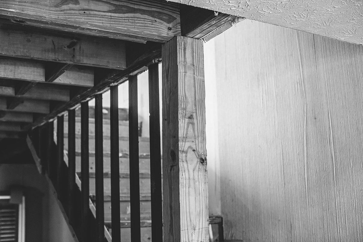 Burnworth Design | Lipstick | Stairs